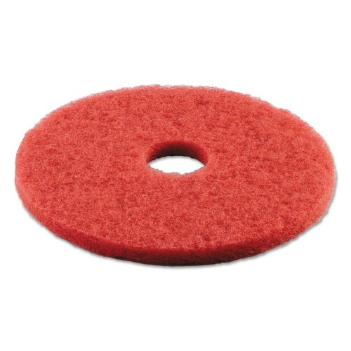 "3M Scrub Pad Disc  17"", Red"