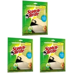 3M Scotch Brite Sponge Wipe (Large) - 3 pcs. (Pack)