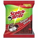 """3M Scotch Brite Scrub Pad (Super Strong, 3"""" x 4"""")"""