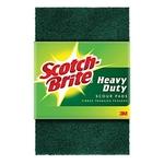 """Scotch Brite Scrub Pad (S-Shape, 3"""" x 4"""")  3 pcs. (Pack)"""