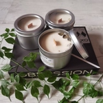 Bundle of 3 Soywax Candles 6 oz - Flame & Glow