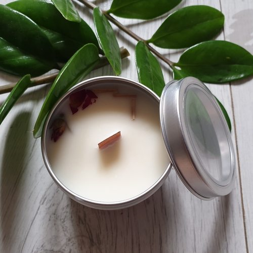 Soy Candle - Geranium Lemongrass 4 oz