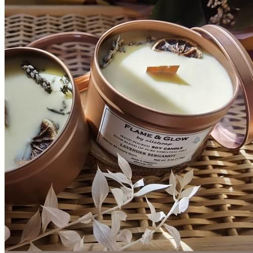 Soywax Candle - Lavender Bergamot 6 oz