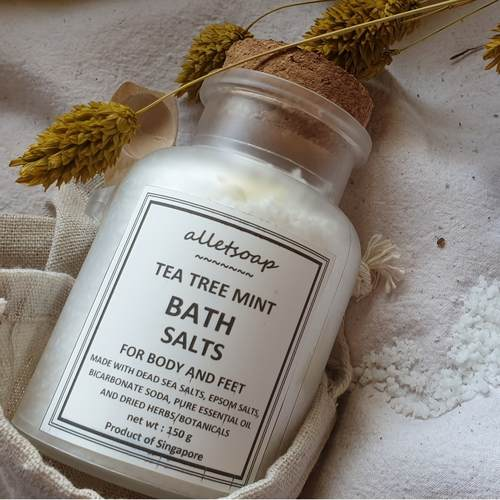 Bath Salts Tea Tree Mint 150g