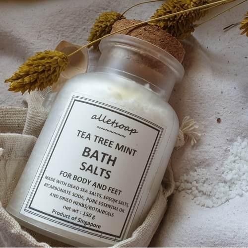 Bath Salts Tea Tree Mint 150g