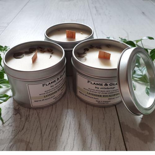 Soywax Candle - Lavender Bergamot 4 oz