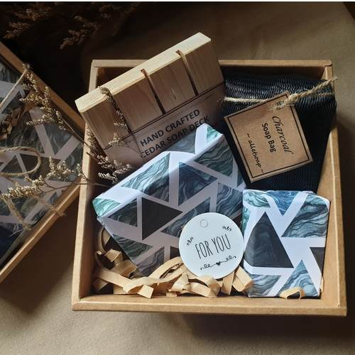 The Refresh Box - Bamboo Charcoal Teatree Mint