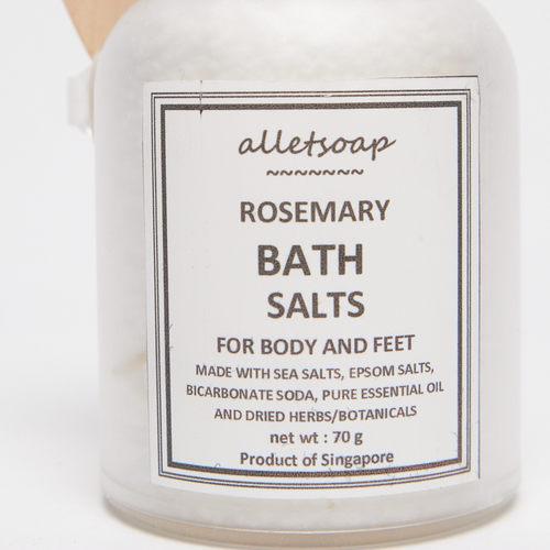 Bath Salts Rosemary 70g