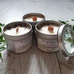 Soy Candle - Lavender Eucalyptus 4 oz