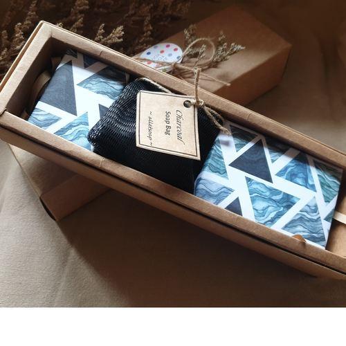 The Gratitude Box Bamboo Charcoal Teatree Mint