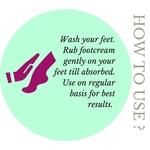 Fuschia - Peppermint Pedicare Nourishing Foot Cream-50g