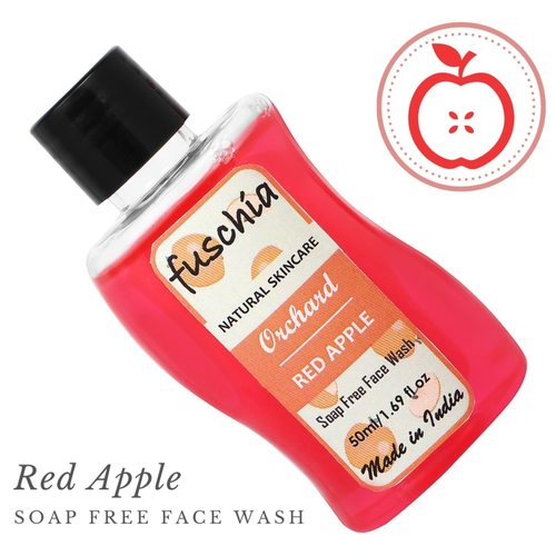 Fuschia Orchard Red Apple Soap Free Face Wash - 50ml