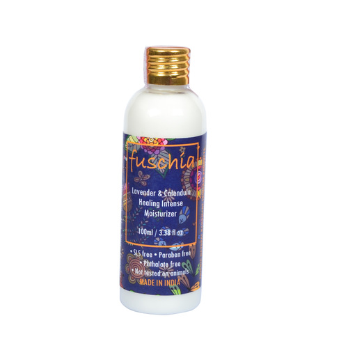 Fuschia Lavender & Calendula Healing Intense Moisturizer - 100 ml