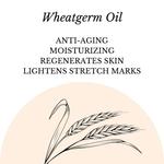 Fuschia - Wheatgerm Oil Natural Handmade Herbal Soap