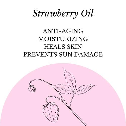 Fuschia - Strawberry Passion Natural Handmade Glycerine Soap