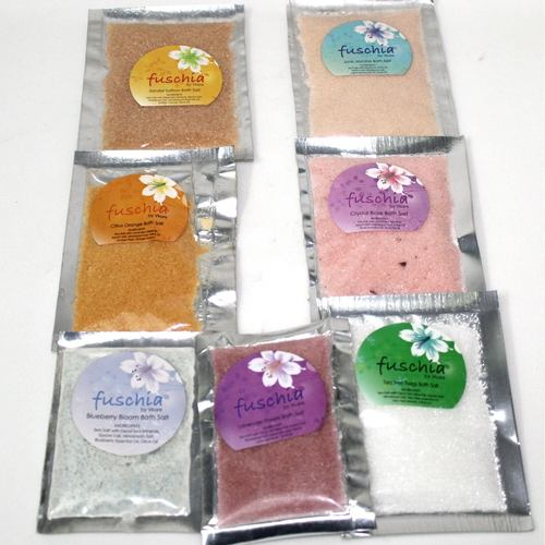 Fuschia - Crystal Rose Bath salt - 15 gms