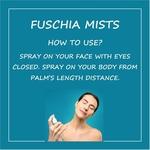 Fuschia Petals Rose Face & Body Mist - 100ml