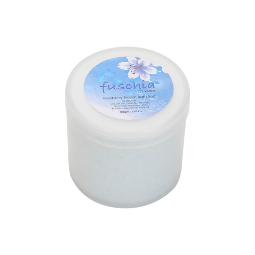 Fuschia - Blueberry Bloom Bath Salt - 100 gms
