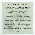 Fuschia Blossom Arabian Jasmine Face & Body Mist - 100 ml