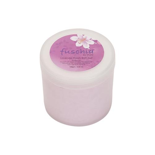 Fuschia - Lavender Florets Bath Salt - 100 gms