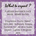 Fuschia Radiance Face Mask - Berry Blend - 50g