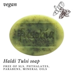 Fuschia - Haldi Tulsi Natural Handmade Herbal Soap