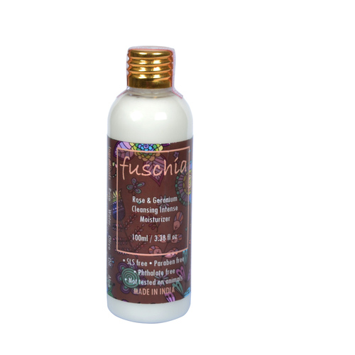 Fuschia Rose & Geranium Cleansing Intense Moisturizer - 100 ml