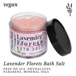 Fuschia Lavender Florets Bath Salt - 100g