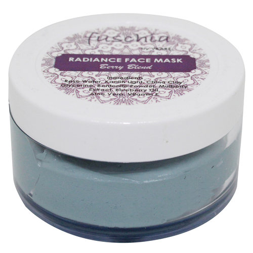 Fuschia Radiance Face Mask - Berry Blend - 50g