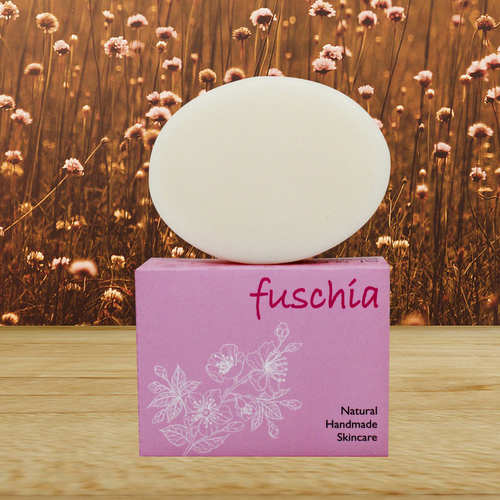 Fuschia - Shea Butter Natural Handmade Herbal Soap