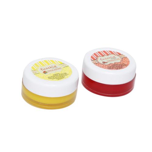 Fuschia  Pomegranate & Alphonso Lip Balm Combo