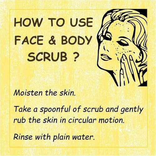 Fuschia - Green Tea - Face & Body Clarifying Scrub-15g