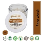 Fuschia Fullers Earth Face Mask - Multani Mitti - 50g
