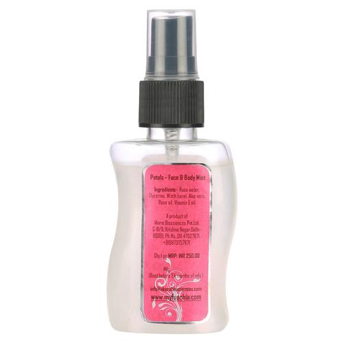 Fuschia Petals Rose Face & Body Mist - 50ml