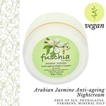 Fuschia - Arabian Jasmine  Anti-ageing  Night  Cream