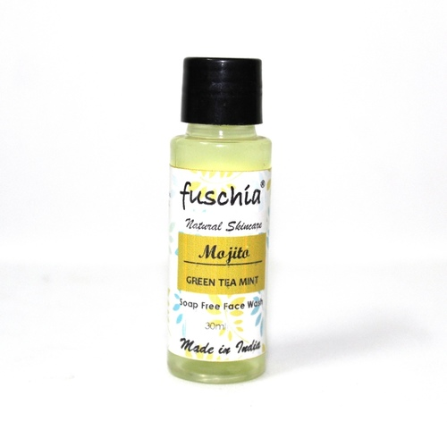 Fuschia Mojito Green Tea Mint Soap Free Face Wash - 30 ml