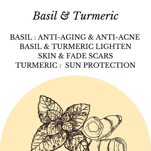 Fuschia - Haldi Tulsi Natural Handmade Herbal Soap