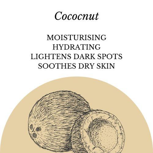 Fuschia - Coconut Natural Handmade Herbal Soap