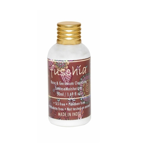 Fuschia Rose & Geranium Cleansing Intense Moisturizer - 50 ml