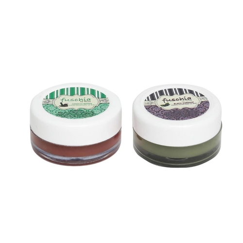 Fuschia  Choco Butter & Black Currant Lip Balm Combo