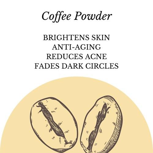 Fuschia - Coffee Cream Natural Handmade Herbal Soap