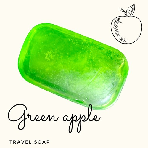 Fuschia - Green Apple Natural Handmade Glycerine Soap-20g