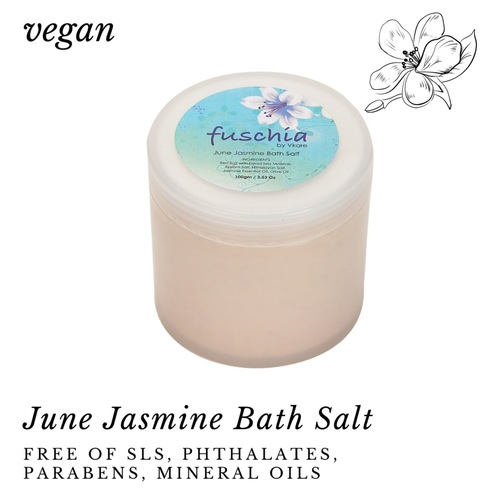 Fuschia - June Jasmine Bath Salt - 100 gms