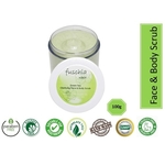 Fuschia - Green Tea - Face & Body Clarifying Scrub