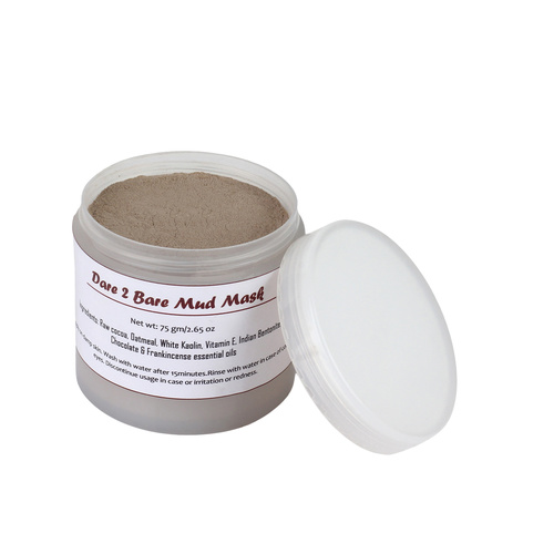 Fuschia Dare 2 Bare Mud Mask - Chocolate