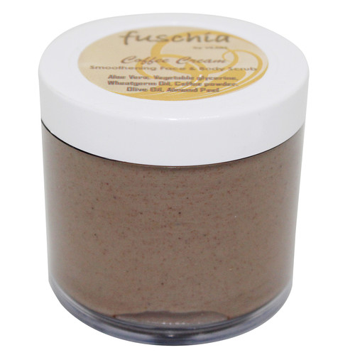 Fuschia - Coffee Cream - Smoothening Face & Body Scrub - 100g