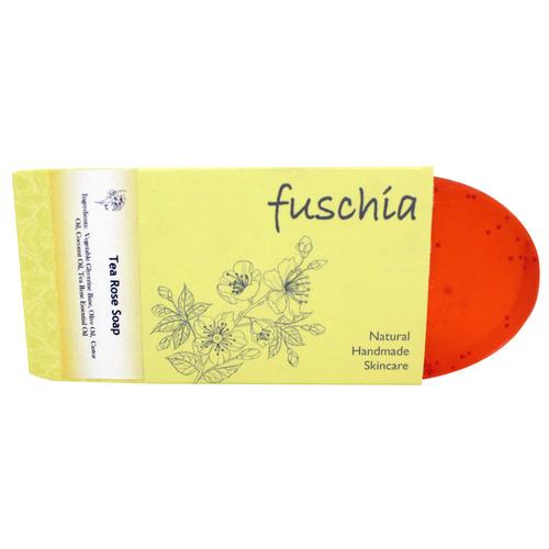 Fuschia - Tea Tree Oil  Natural Handmade Herbal Soap