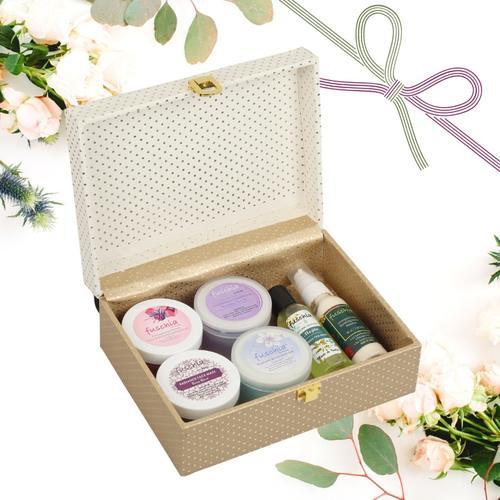 Festive Gift Box Beige