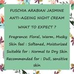 Fuschia - Arabian Jasmine  Anti-ageing  Night  Cream - 10g