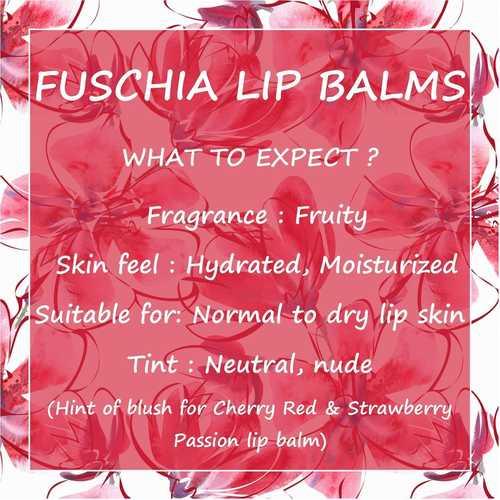 Fuschia  Black Currant Lip Balm